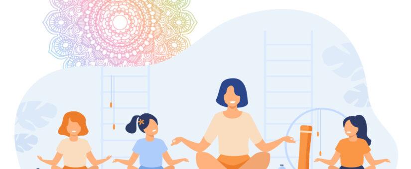Yoga per bambini, progetto di attività ginnica